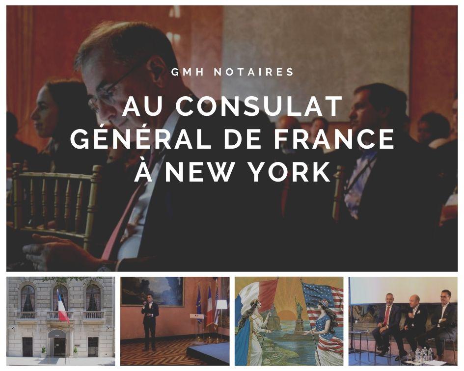 GMH au Consulat général de France à New York