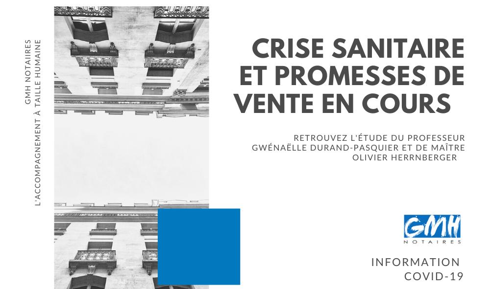 Crise sanitaire et promesses de vente