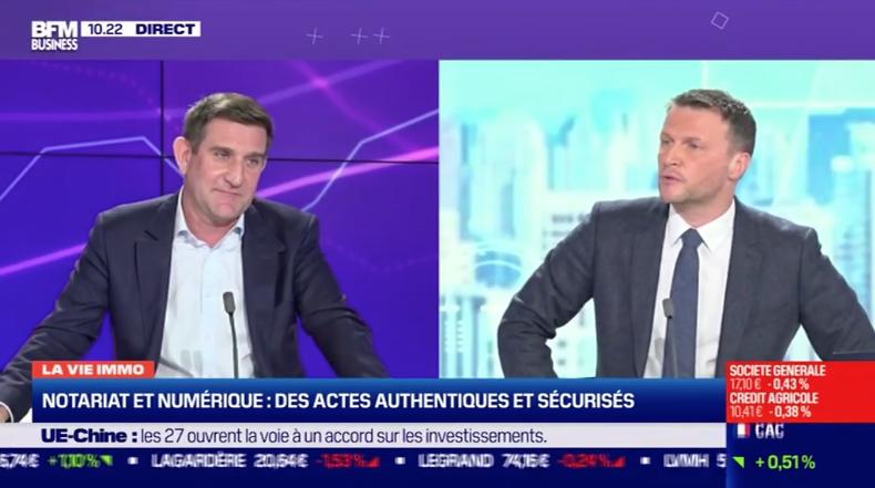 Olivier Herrnberger s'exprime sur l'adaptation du notariat français à la révolution numérique